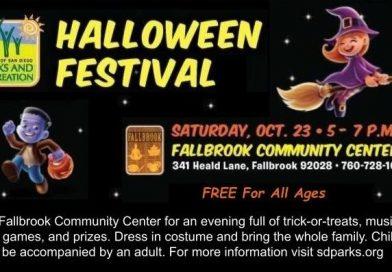 Halloween Festival – Oct 22 – 23